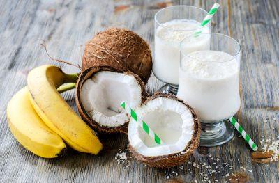 кокосово смути